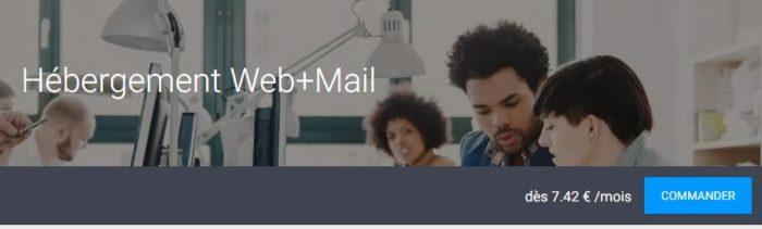 hebergement web + mail infomaniak