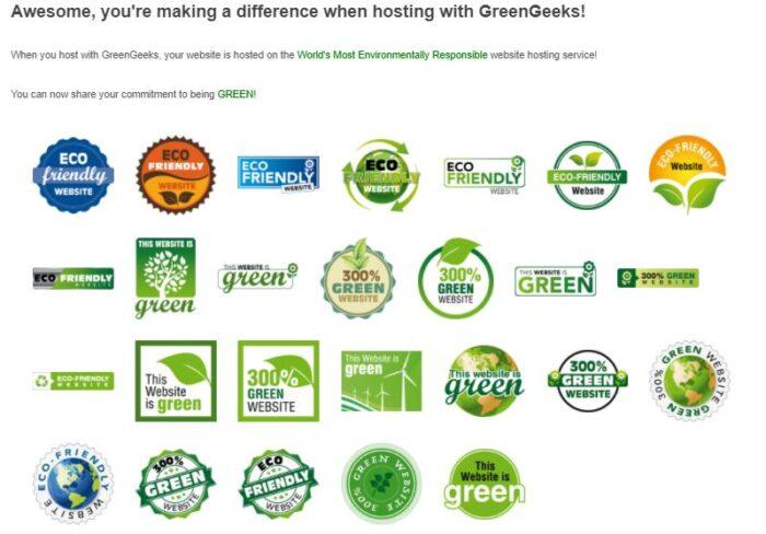 greengeeks hebergement ecologique